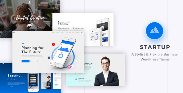 StartUp - قالب وردپرس چند منظوره ریسپانسیو