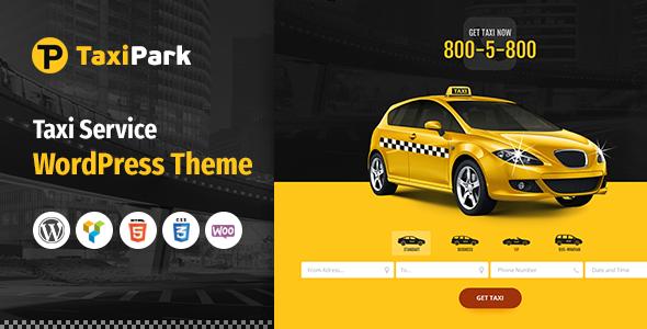 قالب Taxi Park - قالب وردپرس شرکت خدمات تاکسی