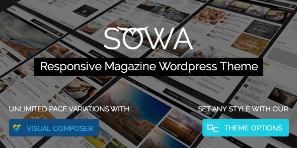 قالب Sowa - قالب مجله وردپرس