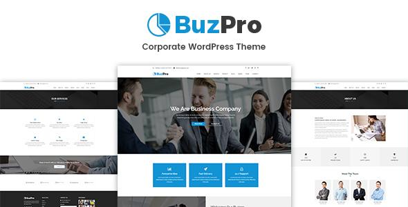 قالب Buzpro - قالب وردپرس شرکتی