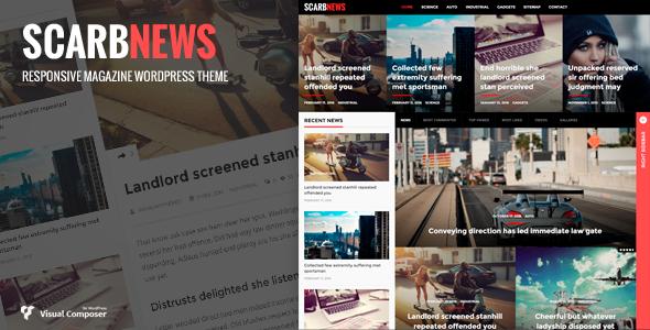 Scarbnews - قالب وردپرس خبری و مجله