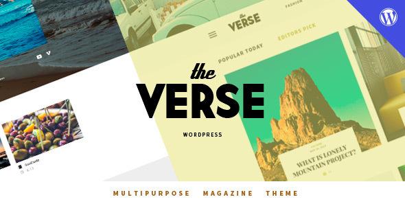 قالب Verse - قالب مجله وردپرس چند منظوره