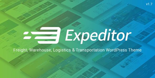 قالب Expeditor - قالب وردپرس لجستیک و حمل و نقل