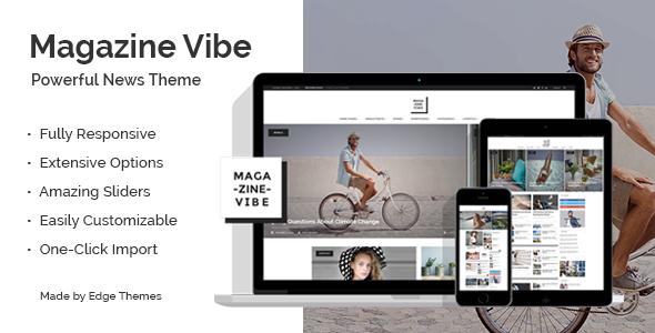 Magazine Vibe - قالب خبری مجله ای وردپرس