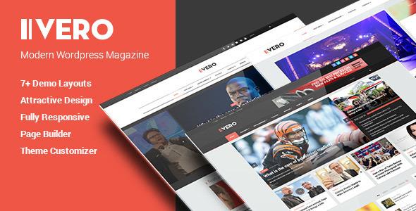 Vero - قالب وردپرس وبلاگ و مجله