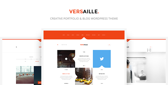 قالب Versaille - قالب وردپرس وبلاگ شخصی