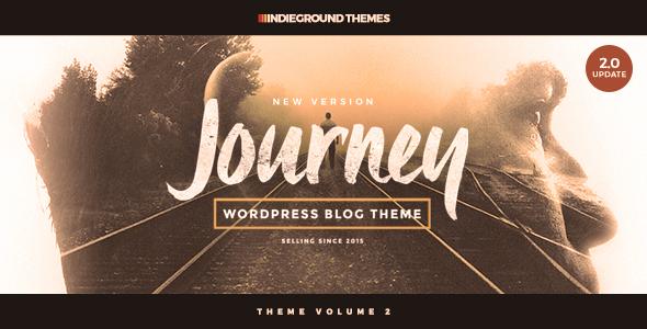 قالب Journey - قالب وبلاگ وردپرس شخصی