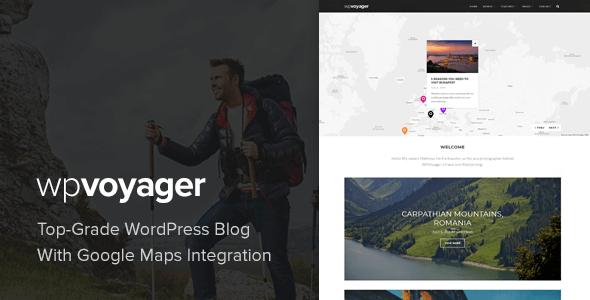 WPVoyager - قالب وردپرس وبلاگ سفر