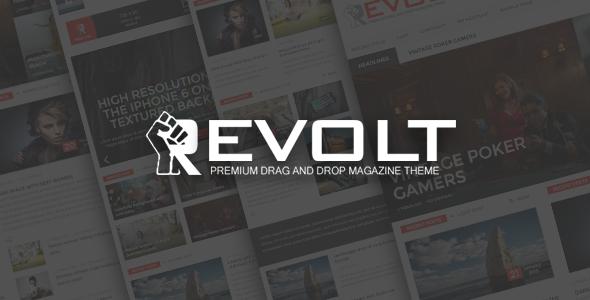 قالب Revolt - قالب مجله وردپرس چند منظوره