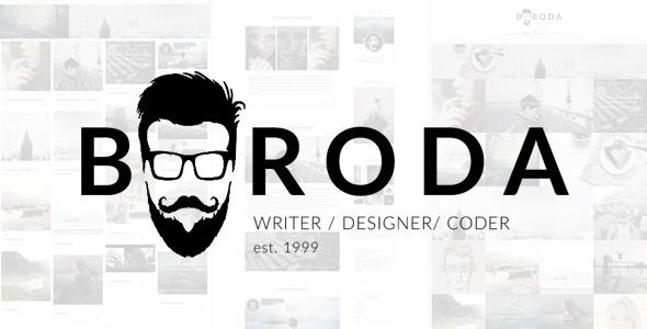 قالب Boroda - قالب وردپرس وبلاگ شخصی