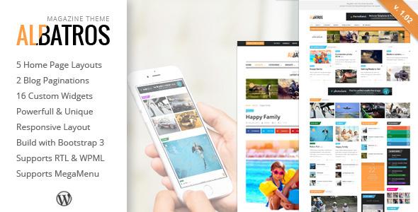Albatros - قالب مجله وردپرس