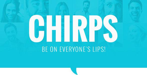 قالب Chirps - قالب مجله وردپرس