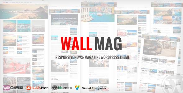 قالب WallMag - قالب وردپرس خبری و مجله