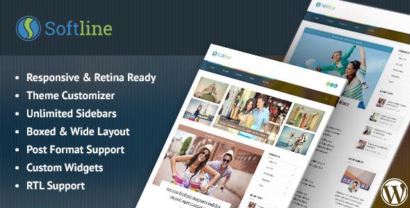 قالب Softline - قالب وبلاگ وردپرس ریسپانسیو