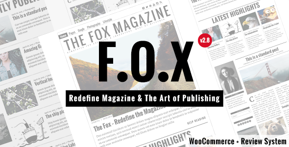 The Fox - قالب وردپرس مجله