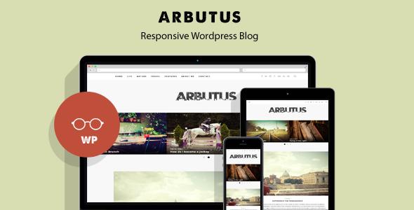 Arbutus - قالب وبلاگ وردپرس ریسپانسیو