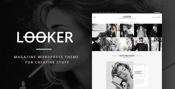 قالب Looker - قالب مجله ای وردپرس
