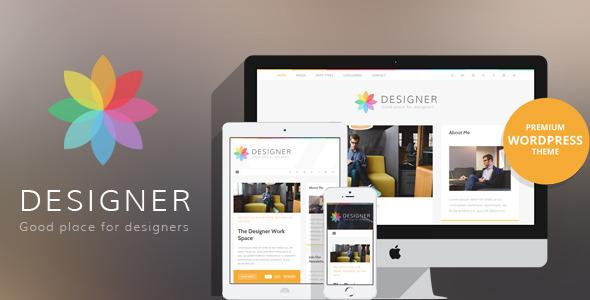 Designer - قالب وردپرس وبلاگ