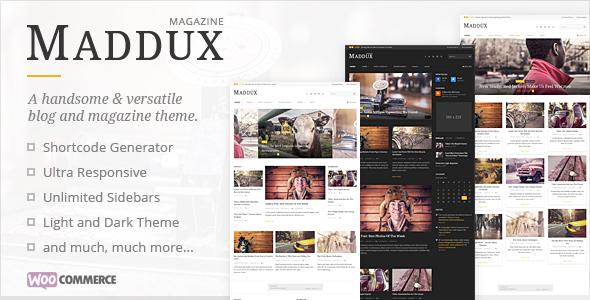Maddux - قالب مجله خبری وردپرس