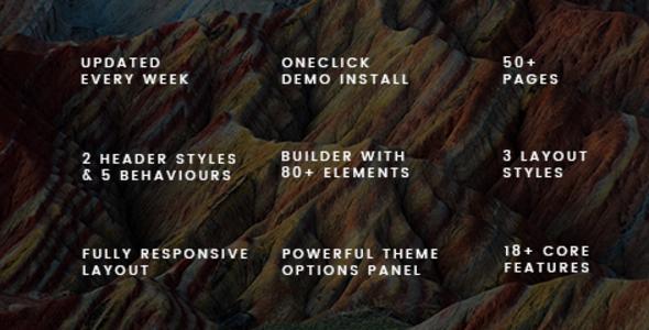 قالب Nexx - قالب وردپرس کسب و کار