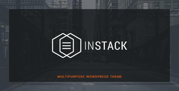 قالب inStack - قالب وردپرس کسب و کار چند منظوره