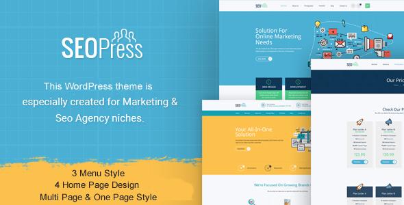 قالب SeoPress - قالب وردپرس دیجیتال مارکتینگ