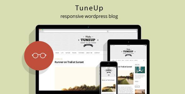 قالب TuneUp - قالب وبلاگ وردپرس ریسپانسیو