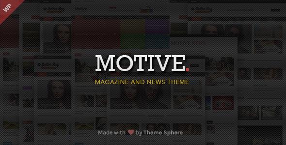 قالب Motive Magazine - قالب وردپرس سایت خبری