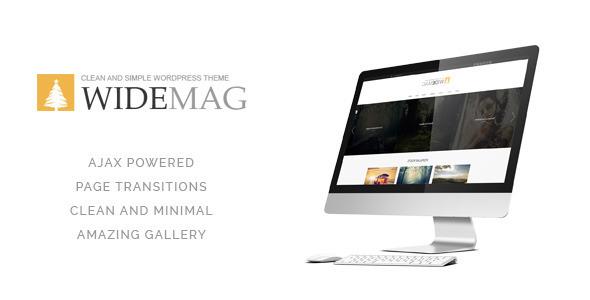قالب Widemag - قالب مجله وردپرس