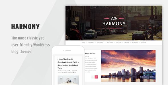 قالب Harmony - قالب وردپرس وبلاگی