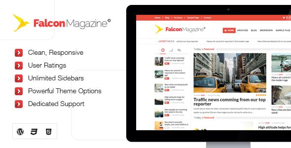 قالب Falcon - قالب ریسپانسیو مجله برای وردپرس