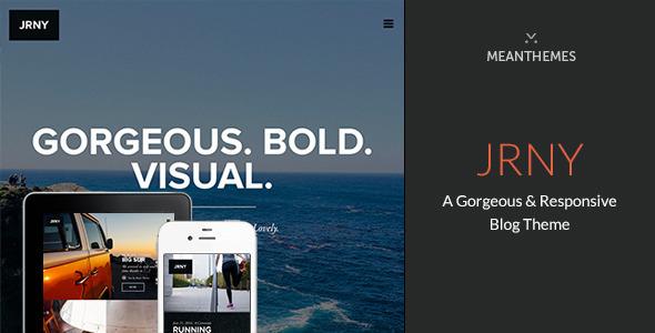 قالب JRNY - قالب وردپرس مجلل بلاگی