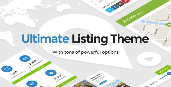 قالب Lister - قالب سایت لیست کسب و کار