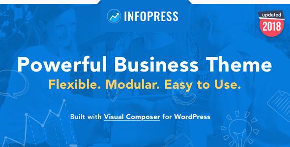 قالب Infopress - قالب وردپرس کسب و کار چند منظوره