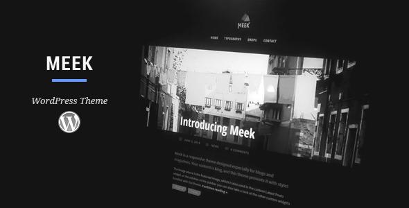قالب Meek - قالب وردپرس