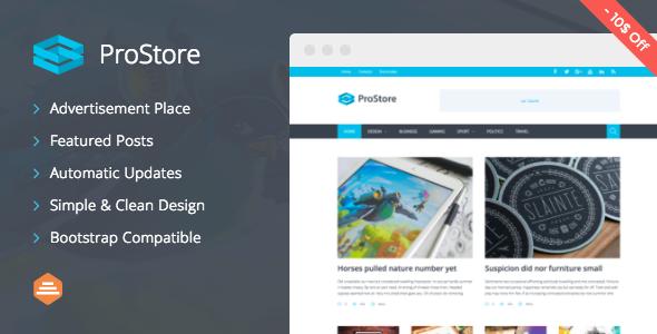 قالب ProStore - قالب وردپرس مجله