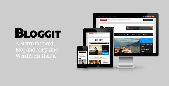 قالب Bloggit - قالب وردپرس وبلاگ نویسی