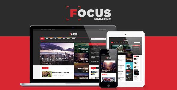 قالب Focus - قالب وردپرس خبری و مجله