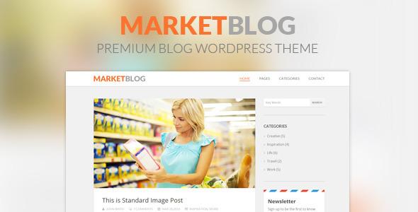 قالب MarketBlog - پوسته وردپرس بلاگ حرفه ای