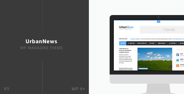 قالب UrbanNews - قالب وردپرس مجله