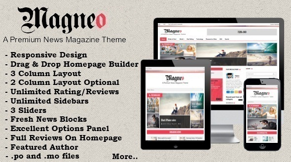 قالب Magneo - قالب وردپرس خبر و مجله