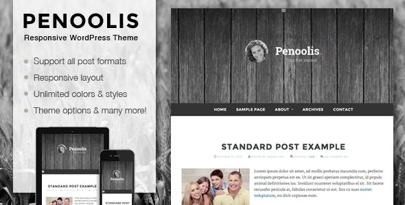 قالب Penoolis - قالب ریسپانسیو وبلاگ شخصی