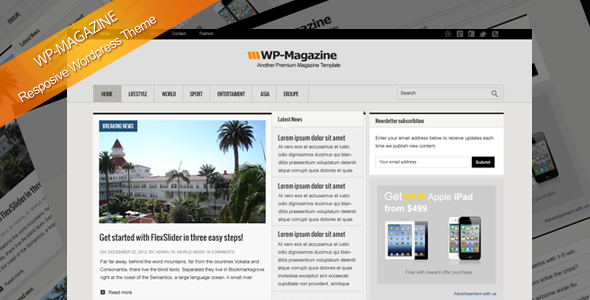 WP-Magazine - قالب وردپرس ریسپانسیو