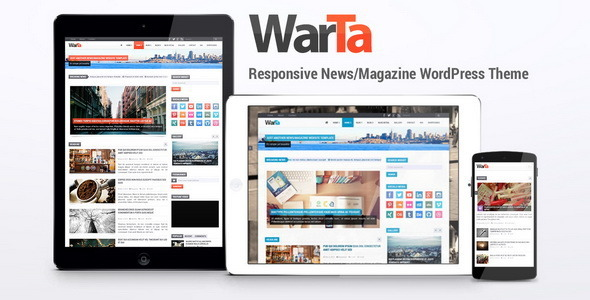 قالب Warta - قالب وردپرس خبری و مجله