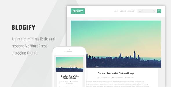 Blogify - قالب وردپرس بلاگی