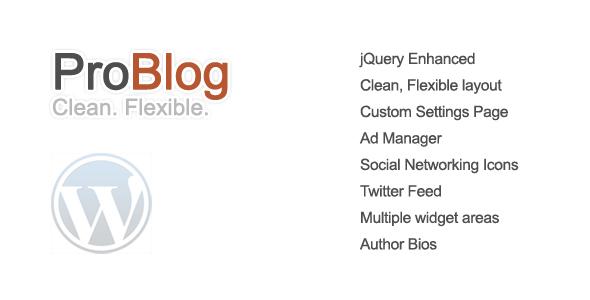 ProBlog - قالب وردپرس انعطاف پذیر