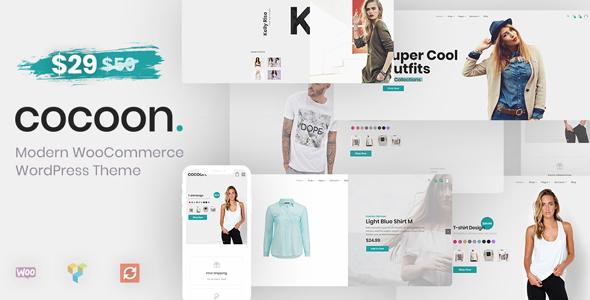 قالب Cocoon - قالب فروشگاهی مدرن برای وردپرس