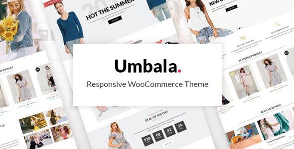قالب Umbala - قالب وردپرس فروشگاهی