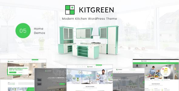 KitGreen - قالب وردپرس آشپزخانه مدرن