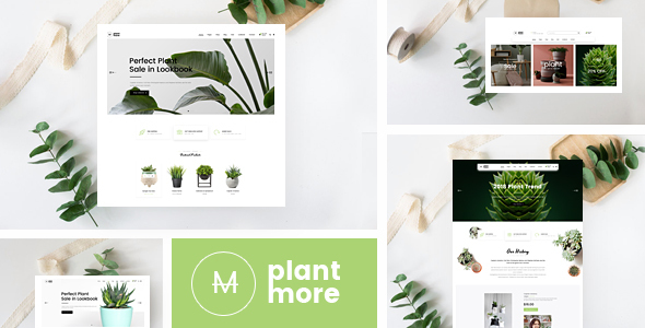 قالب Plantmore - قالب وردپرس فروشگاه ووکامرس